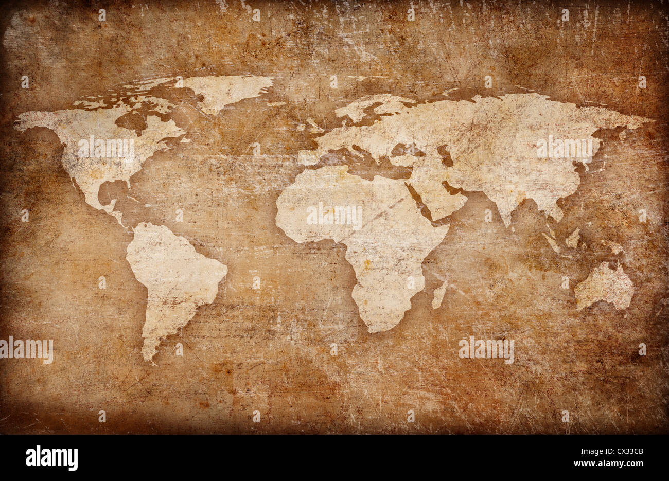 Grunge world map background stock photo royalty free image grunge world map background gumiabroncs Gallery