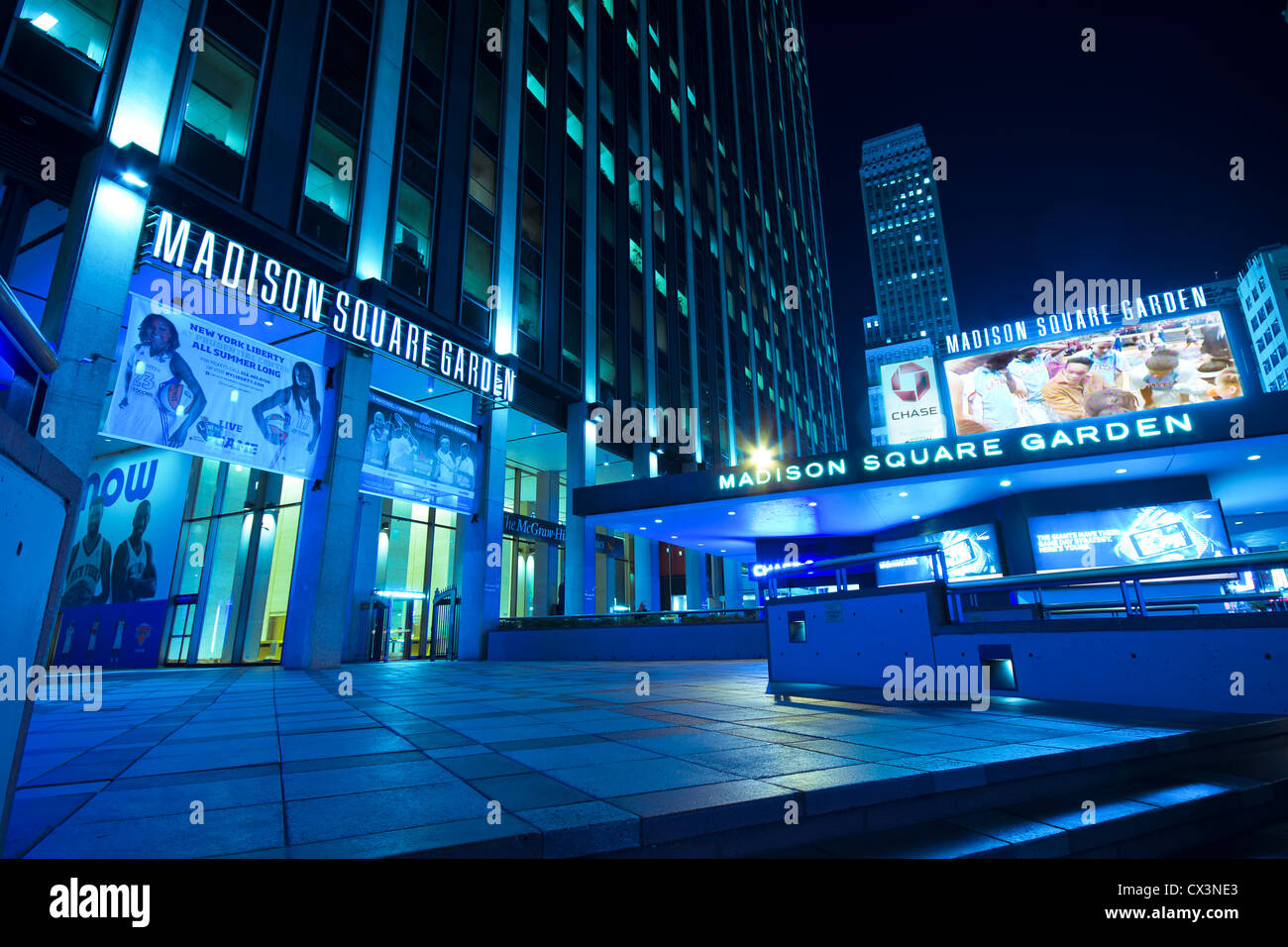 New York City Sept 13 Entrance To Madison Square Garden In New Stock Photo Royalty Free