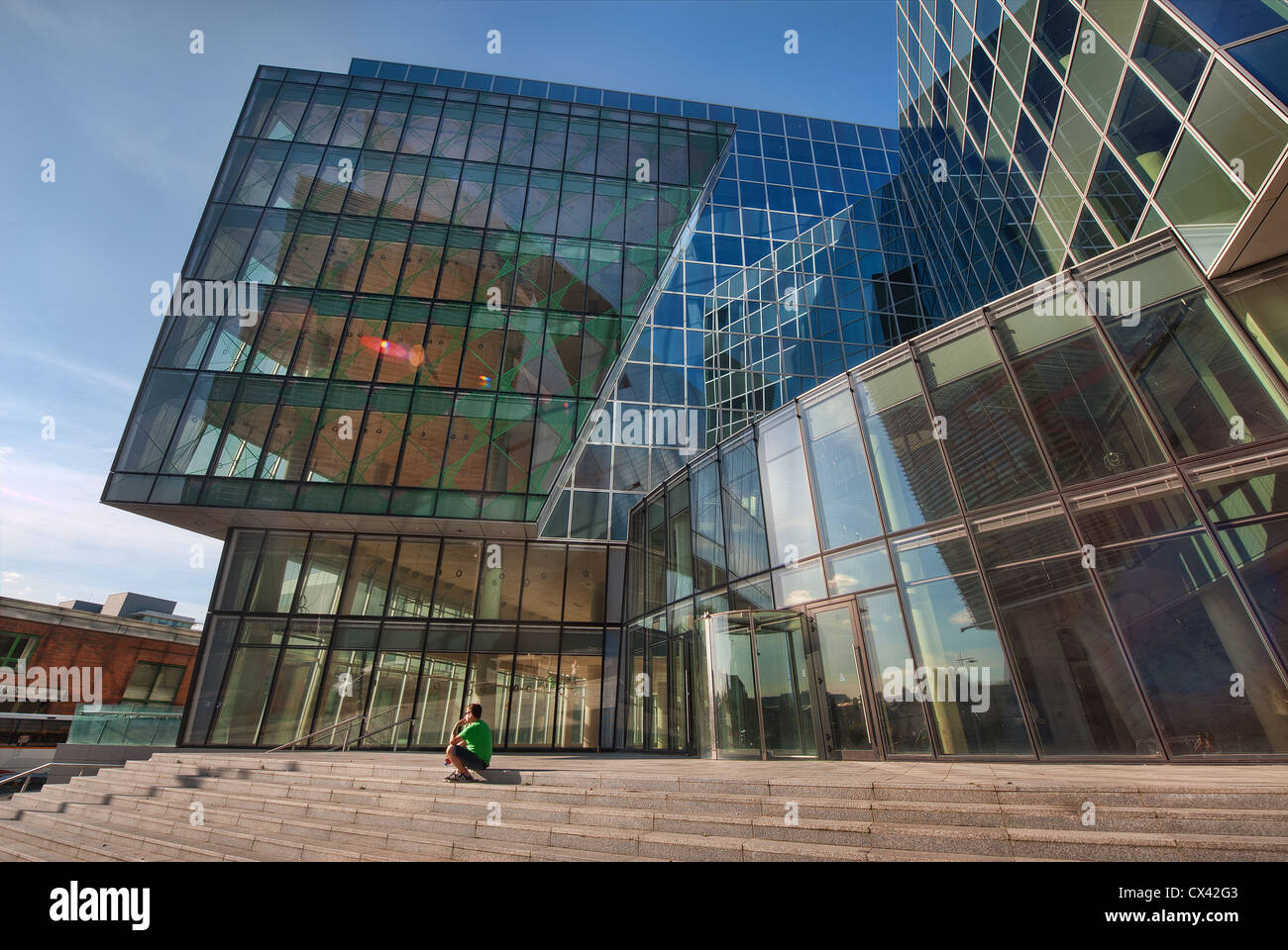 Modern Architecture Images contemporary modern architecture dublin of docklands area u