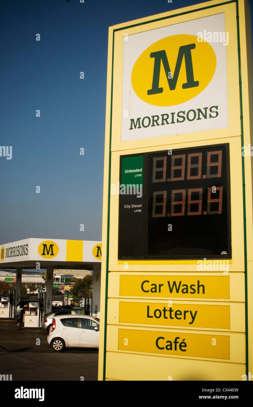 Morrisons, petrol, diesel, filling station, supermarket, Fakenham ...