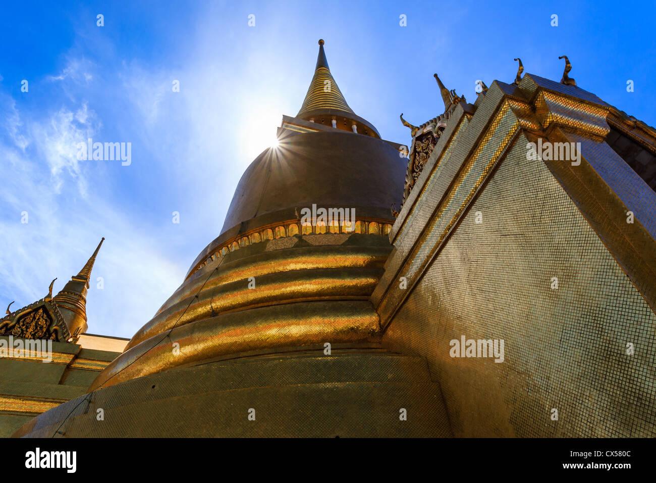 Wat Phra Kaeo, Temple of the Emerald Buddha, near the ...