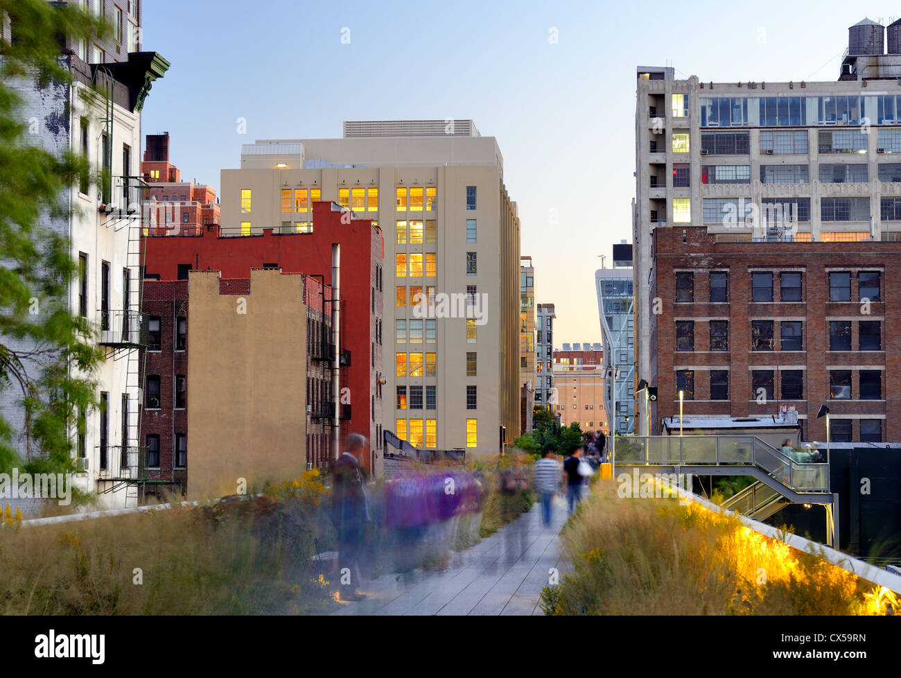 The high line in new york city stock photo royalty free for New york city highline