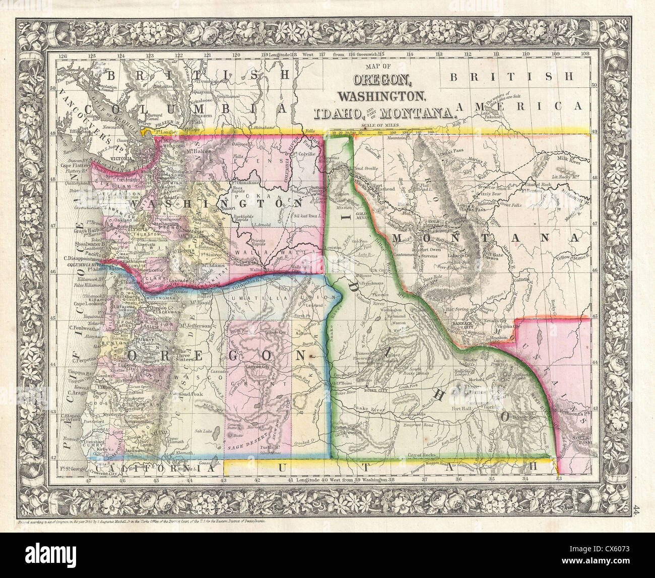 Map Of Idaho And Washington MAP - Map of idaho