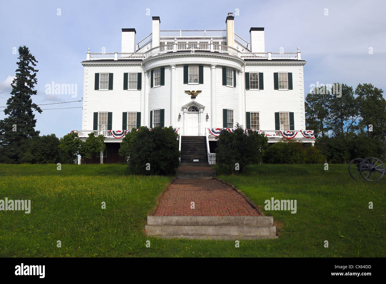 View picture of general henry knox museum montpelier thomaston - Montpelier The Mansion Built For General Henry Knox In The 1790 S In Thomaston