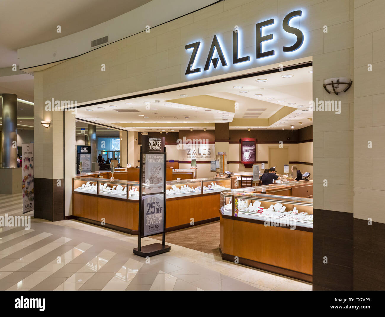 Zales Store In The Mall Of America Bloomington