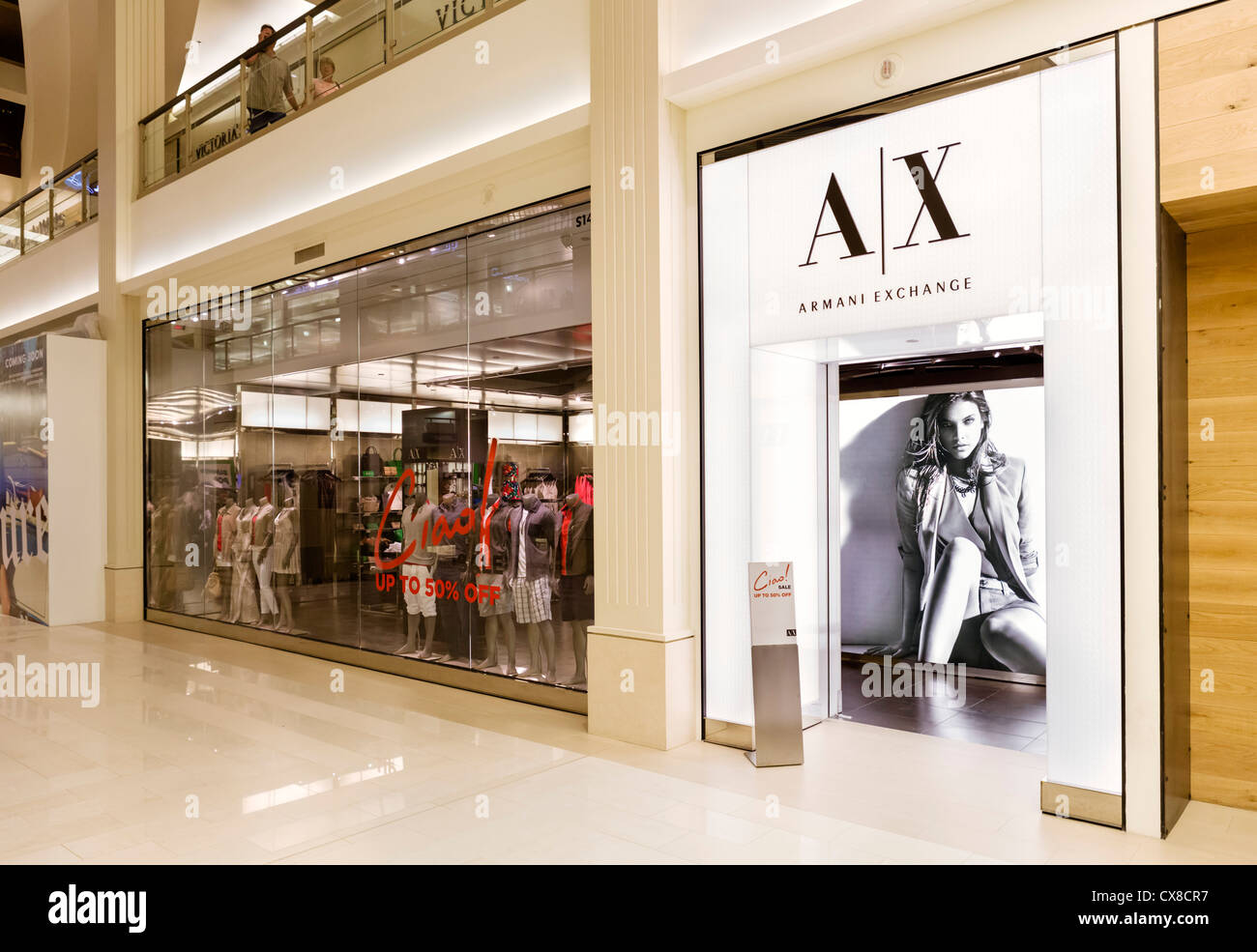 Armani Exchange store in the Mall of America, Bloomington ...