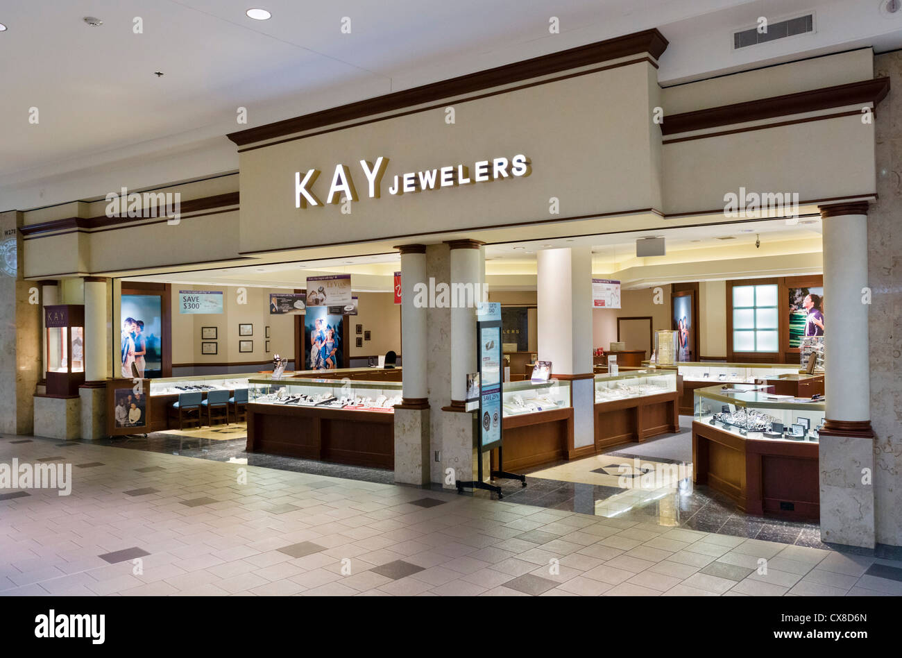 kay jewelers store in the mall of america bloomington minneapolis stock photo royalty free. Black Bedroom Furniture Sets. Home Design Ideas