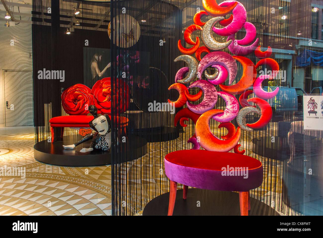 New york ny usa soho shopping contemporary furniture for Furniture stores in soho new york city