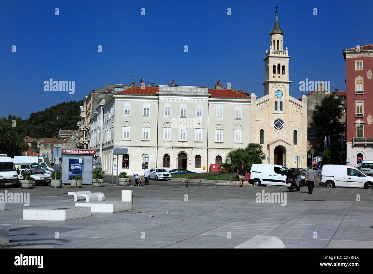 Church Of Saint Francis  Split  Dalmatia  Croatia Stock Photo  Royalty Free Image  50596054