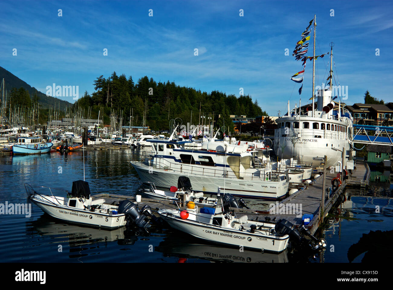 Canadian princess resort sport fishing fleet ucluelet for Canada fishing resorts