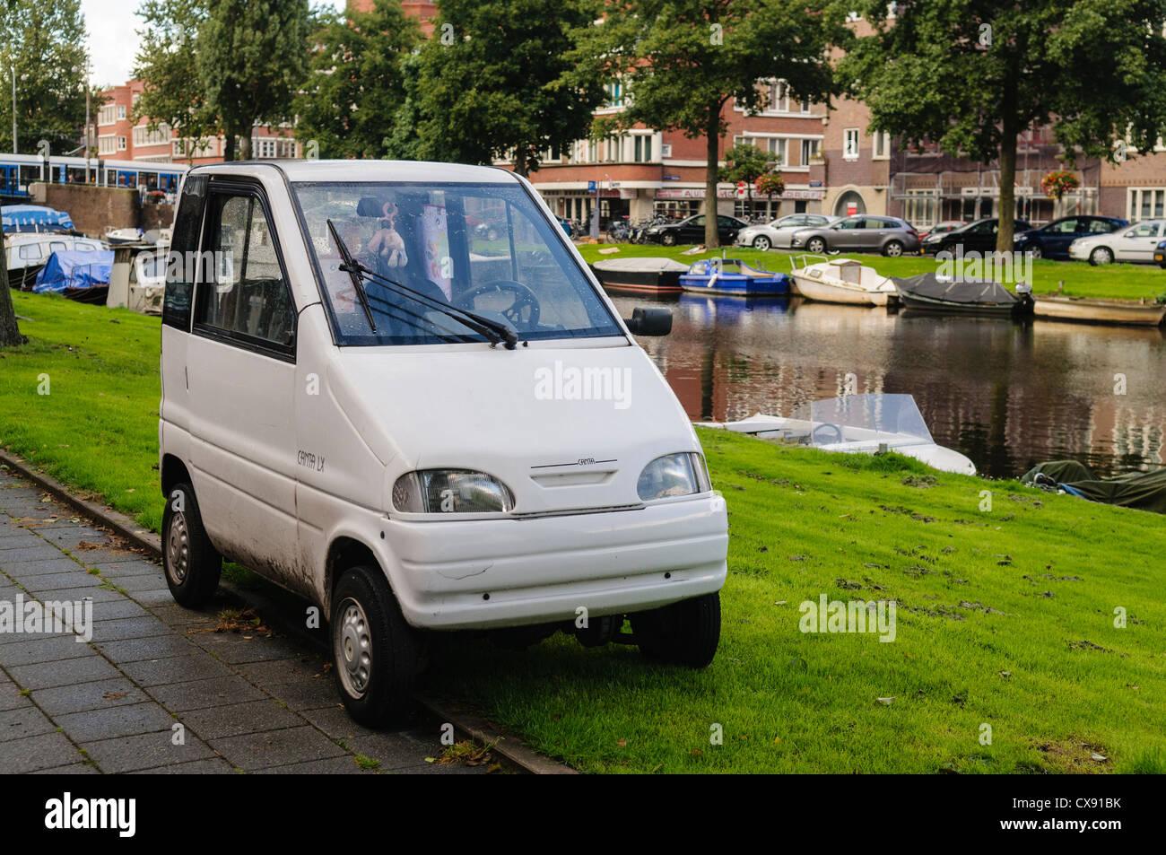Waaijenberg Canta Lx Microcar In Amsterdam Stock Photo Royalty