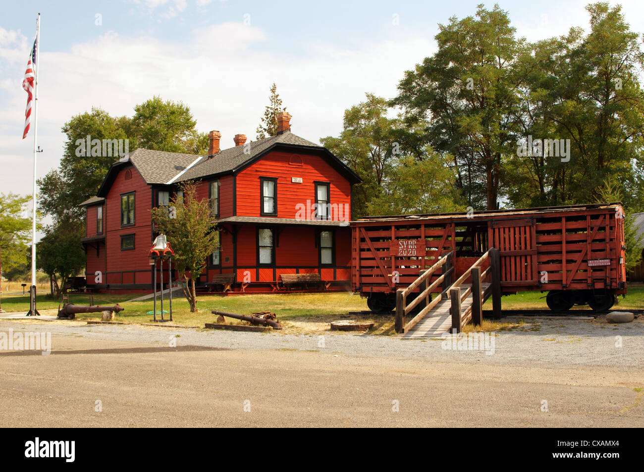 Dewitt Museum Depot Park Prairie City Oregon Or Place For