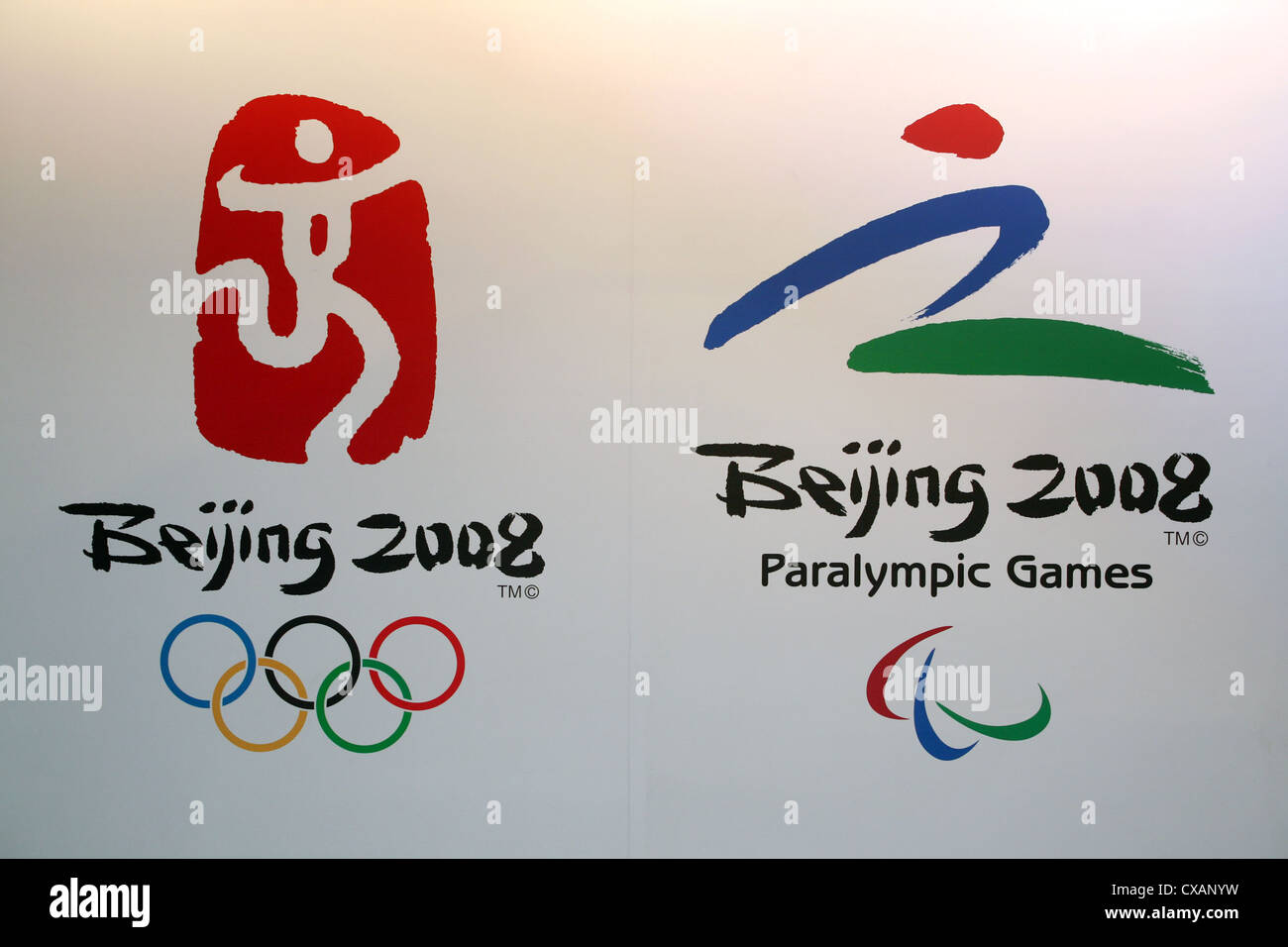 Symbol photo logo of the olympic games and the 2008 paralympics symbol photo logo of the olympic games and the 2008 paralympics in beijing biocorpaavc Images