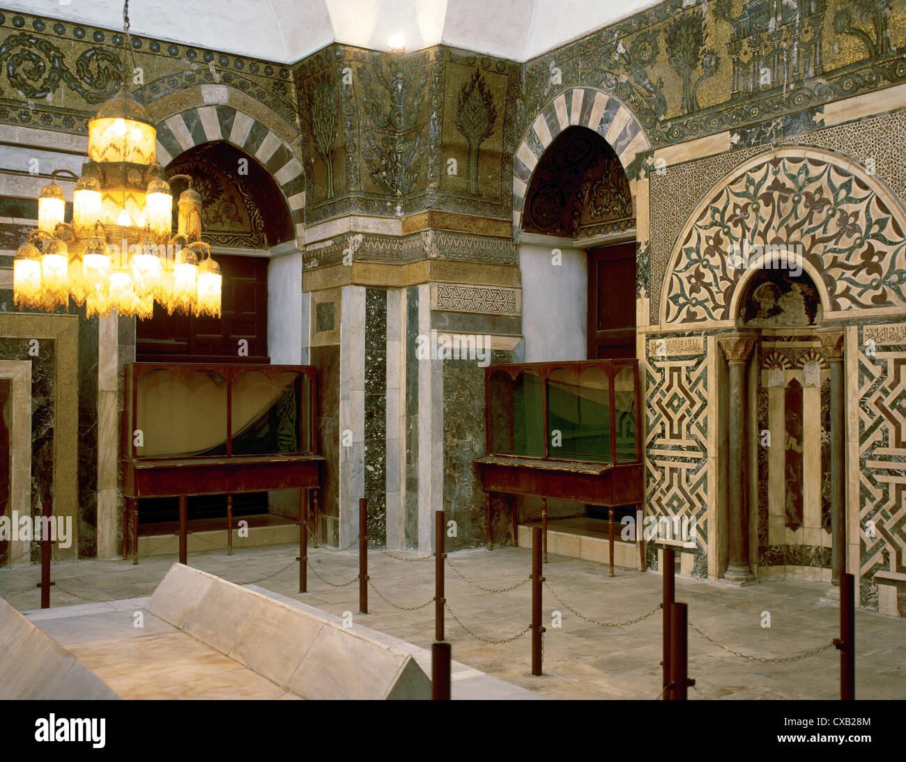 Islamic art syria damascus madrasa al zahiriyya 13th for The damascus house