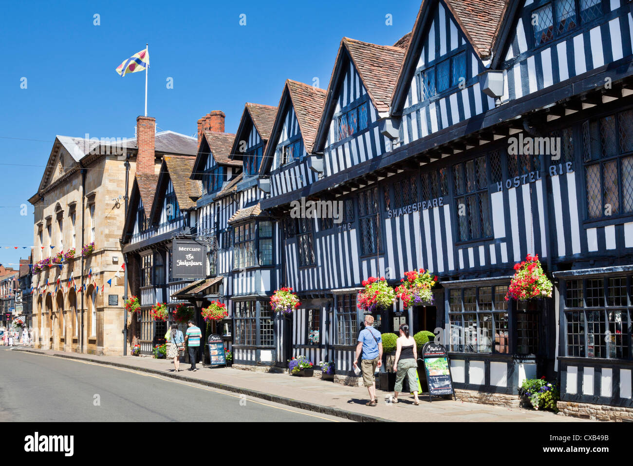 The shakespeare hotel in stratford upon avon town centre for The stratford
