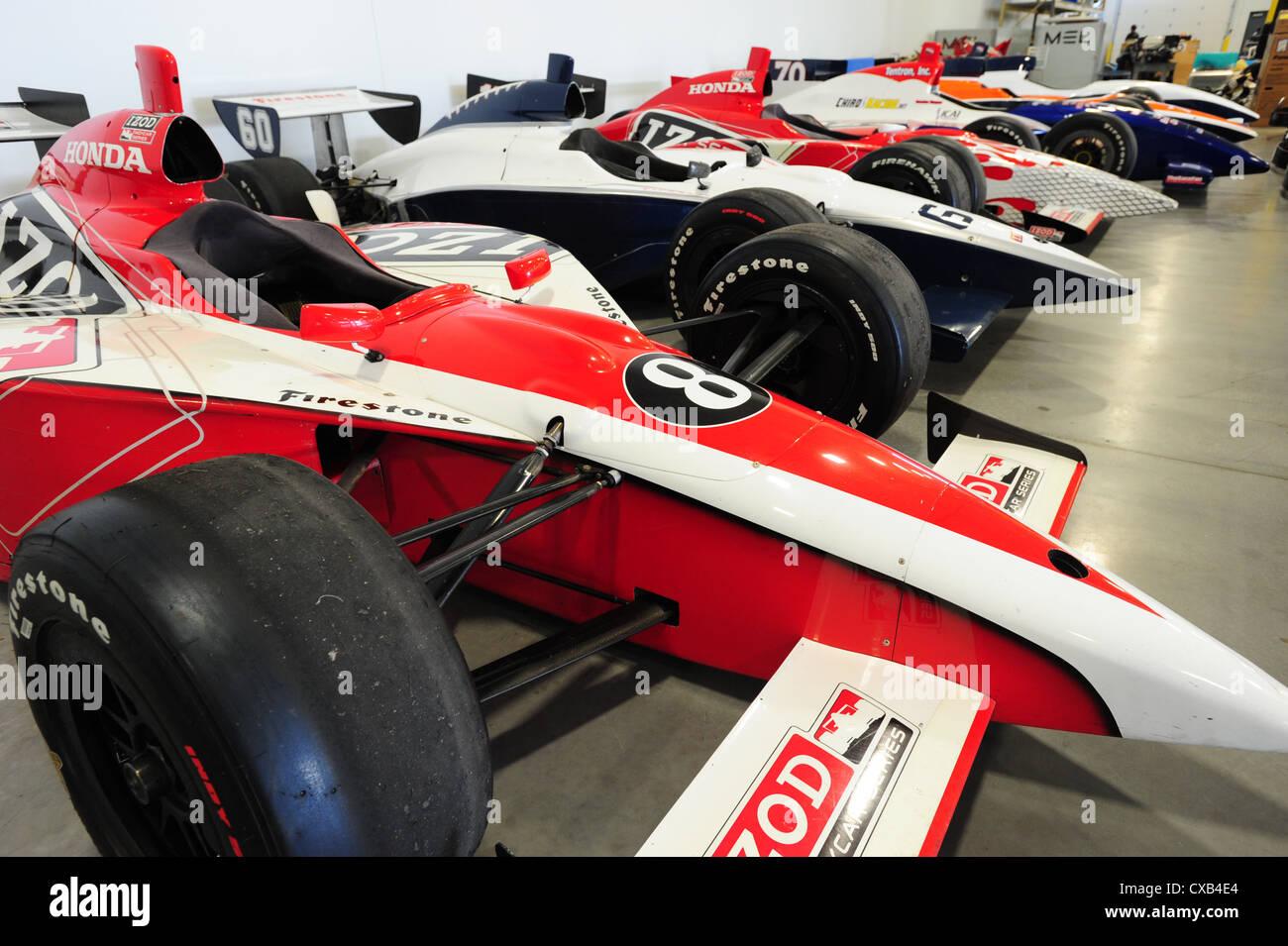 USA Indiana IN Indianapolis Dallara Indy racing car factory and ...