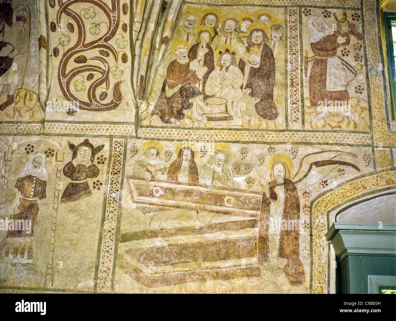 Wall murals in the 15th century espoo cathedral espoo finland wall murals in the 15th century espoo cathedral espoo finland amipublicfo Image collections