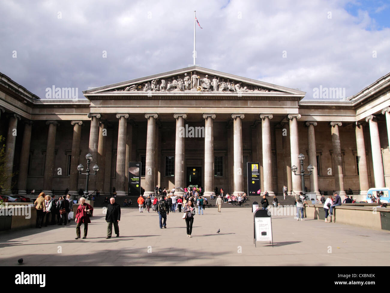 The British Museum Great Russell Street London Stock Photo - Great museums in us