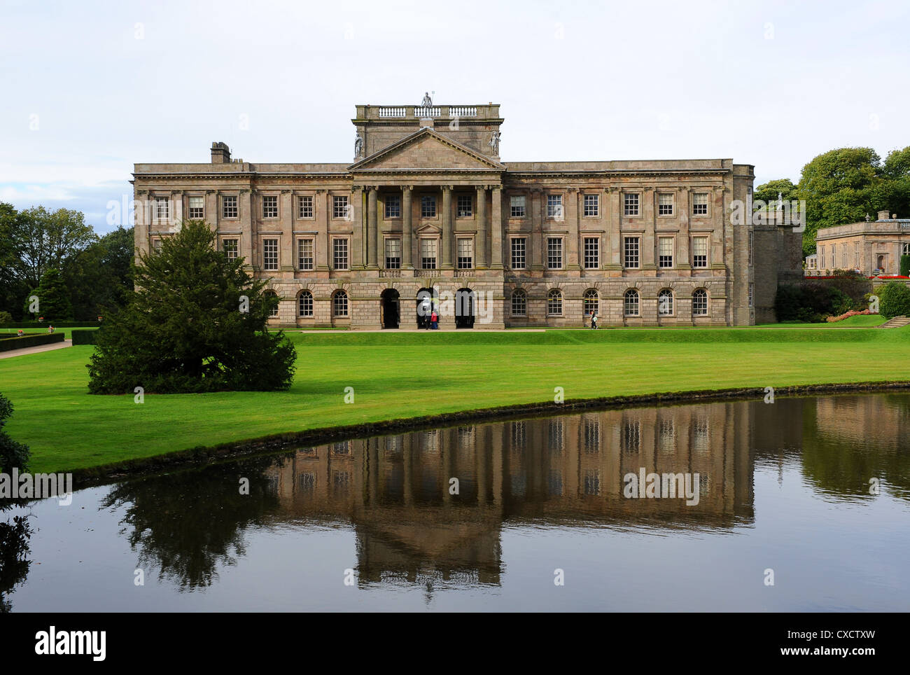 Lyme Park in Cheshire ...