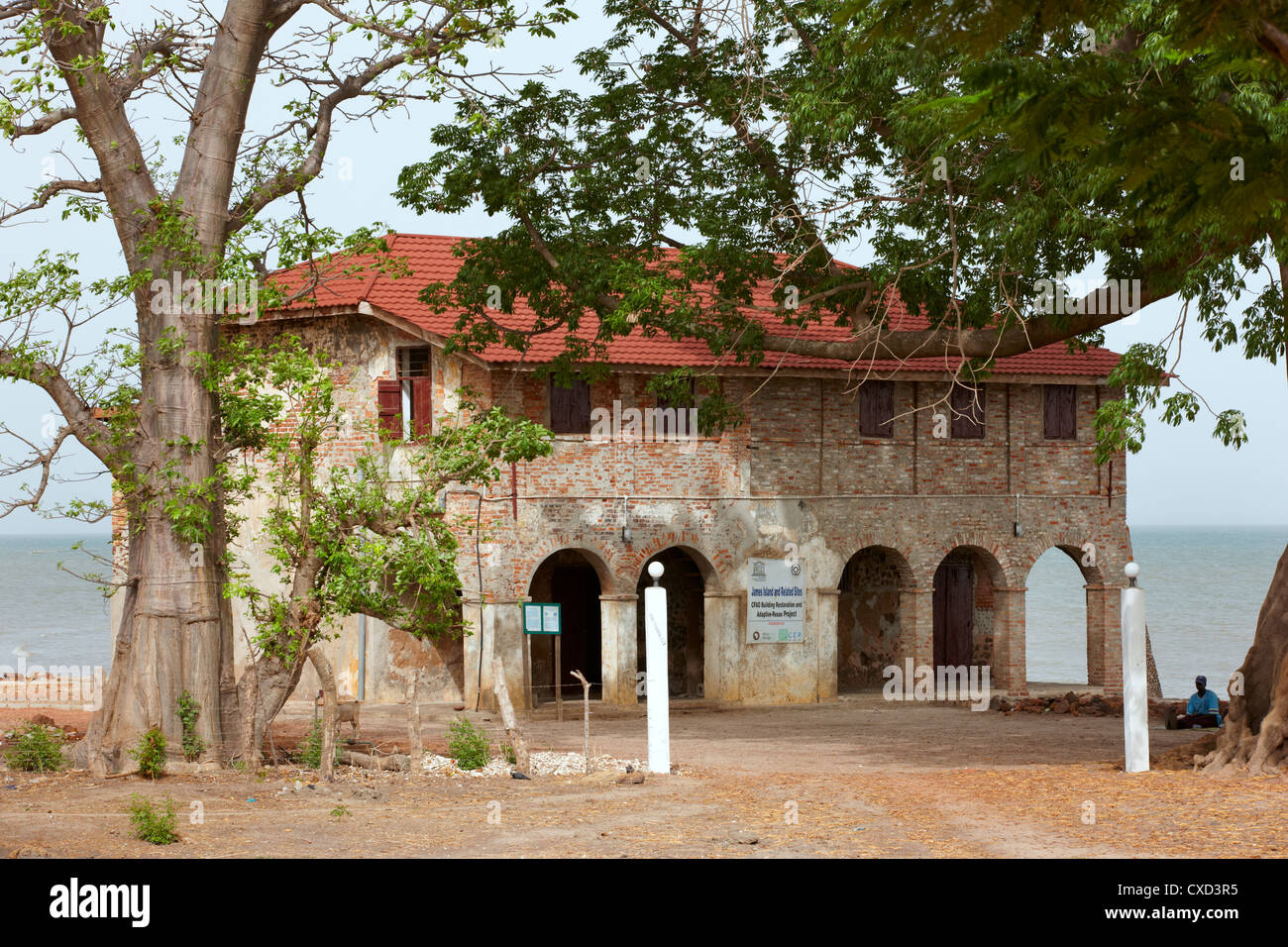 The Slave House, Juffureh Village, the Gambia, West Africa ...  The Slave House...