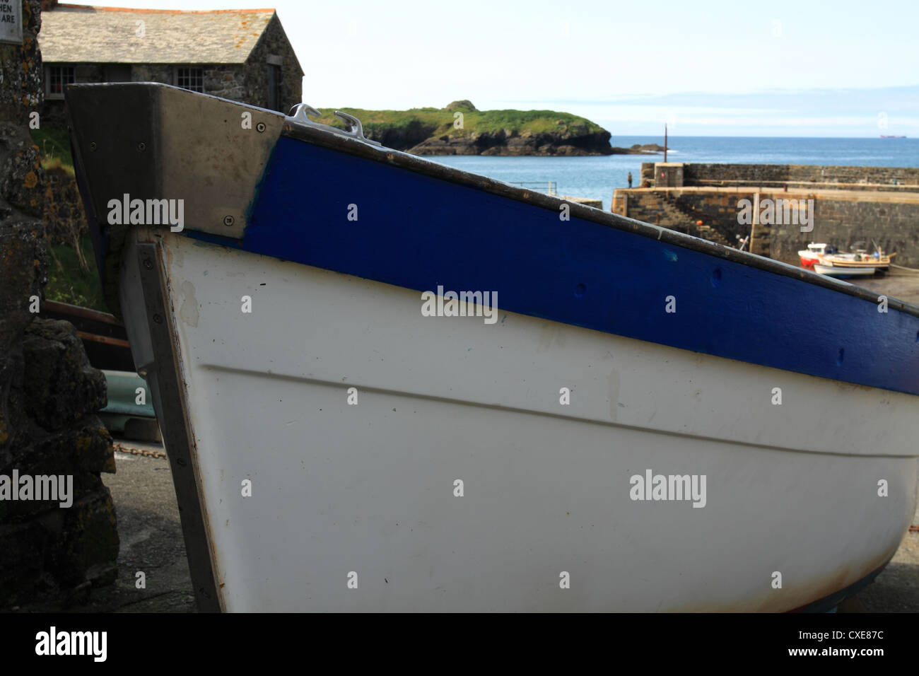 bow of small boat stock photo royalty free image 50715600 alamy
