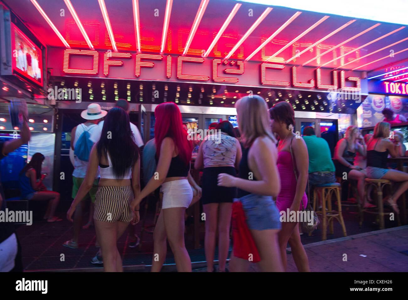 Best Nightclubs Magaluf, Majorca - YouTube
