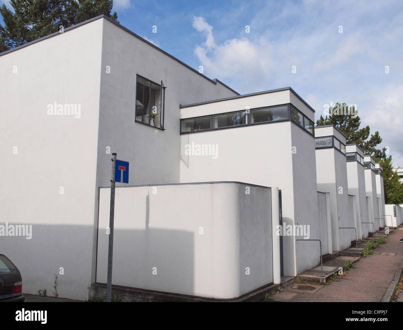 Modern Architecture Exhibition modern architecture exhibition weissenhof siedlung model houses