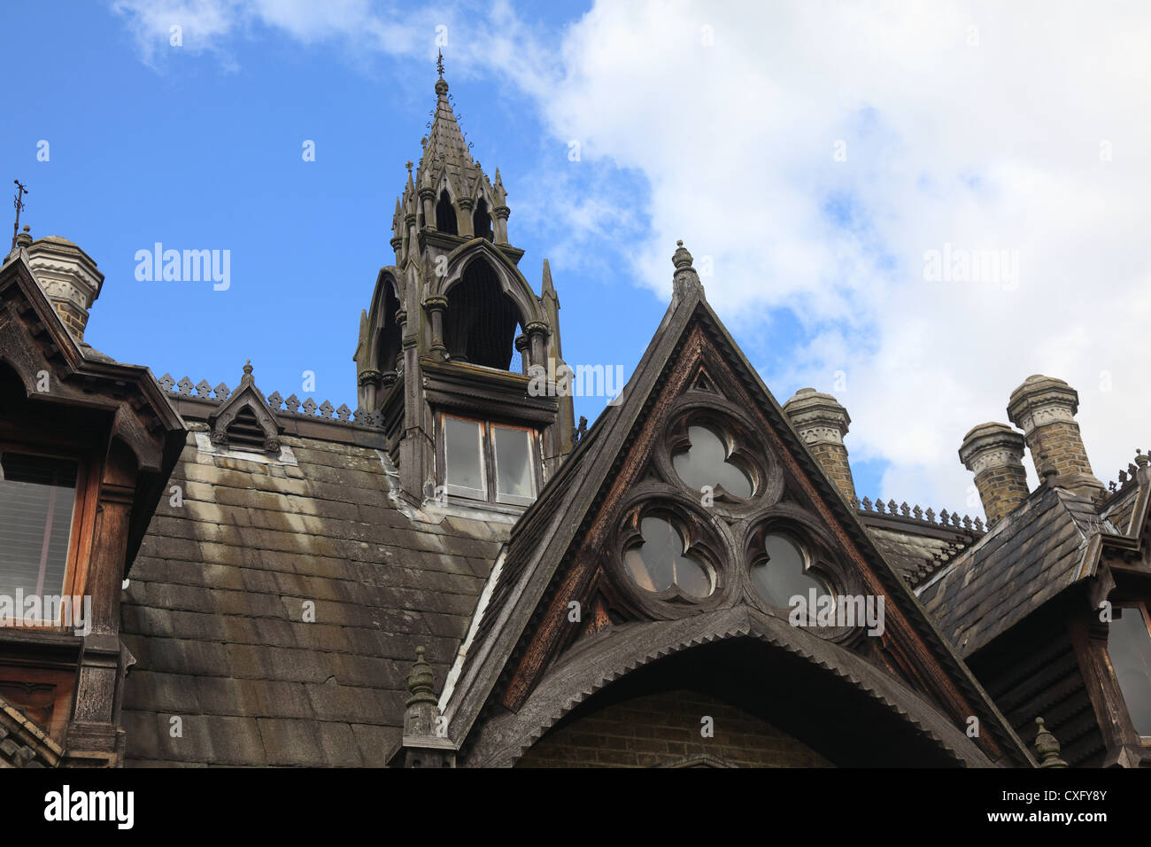 Gothic Houses victorian gothic house stock photos & victorian gothic house stock