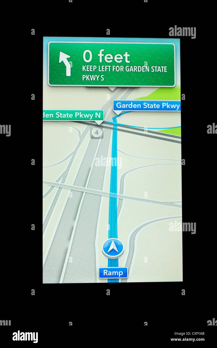 New Apples Ios 6 Maps App Showing Turn By Turn Directions – Turn by Turn Maps