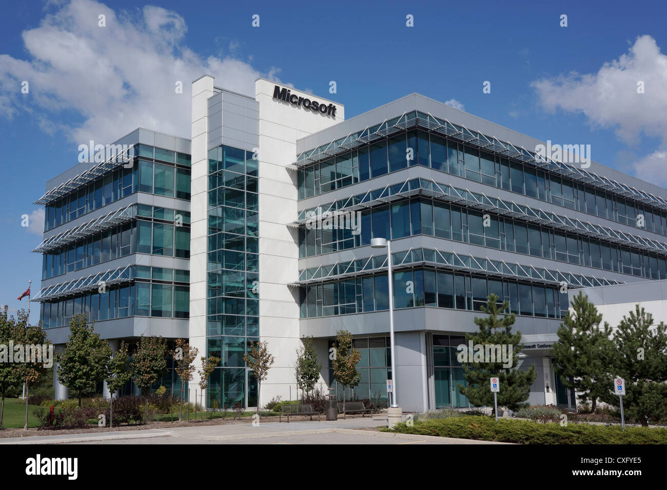 microsoft office building. Microsoft Office Building, Mississauga, Canada Building T
