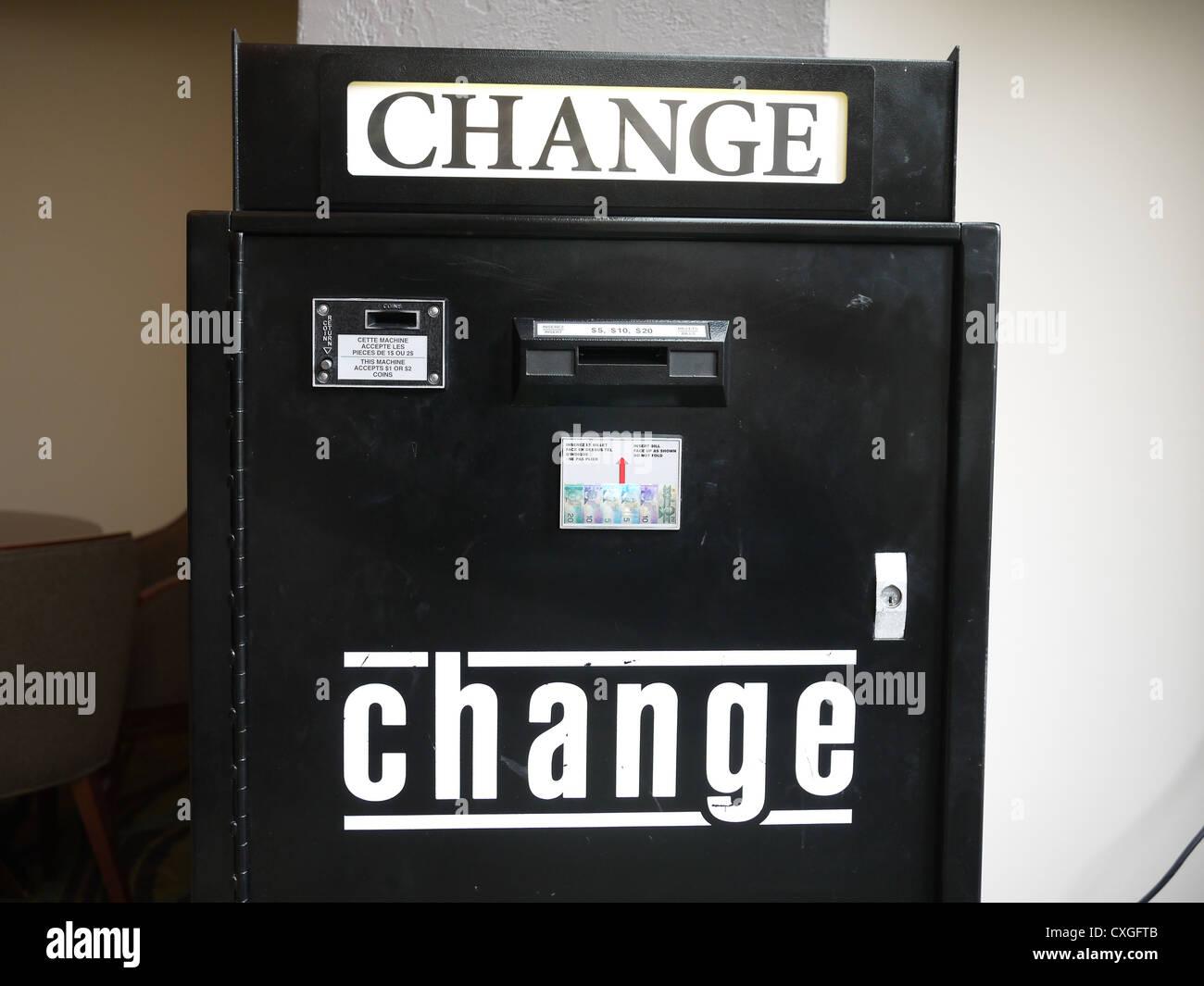 coin change machine free