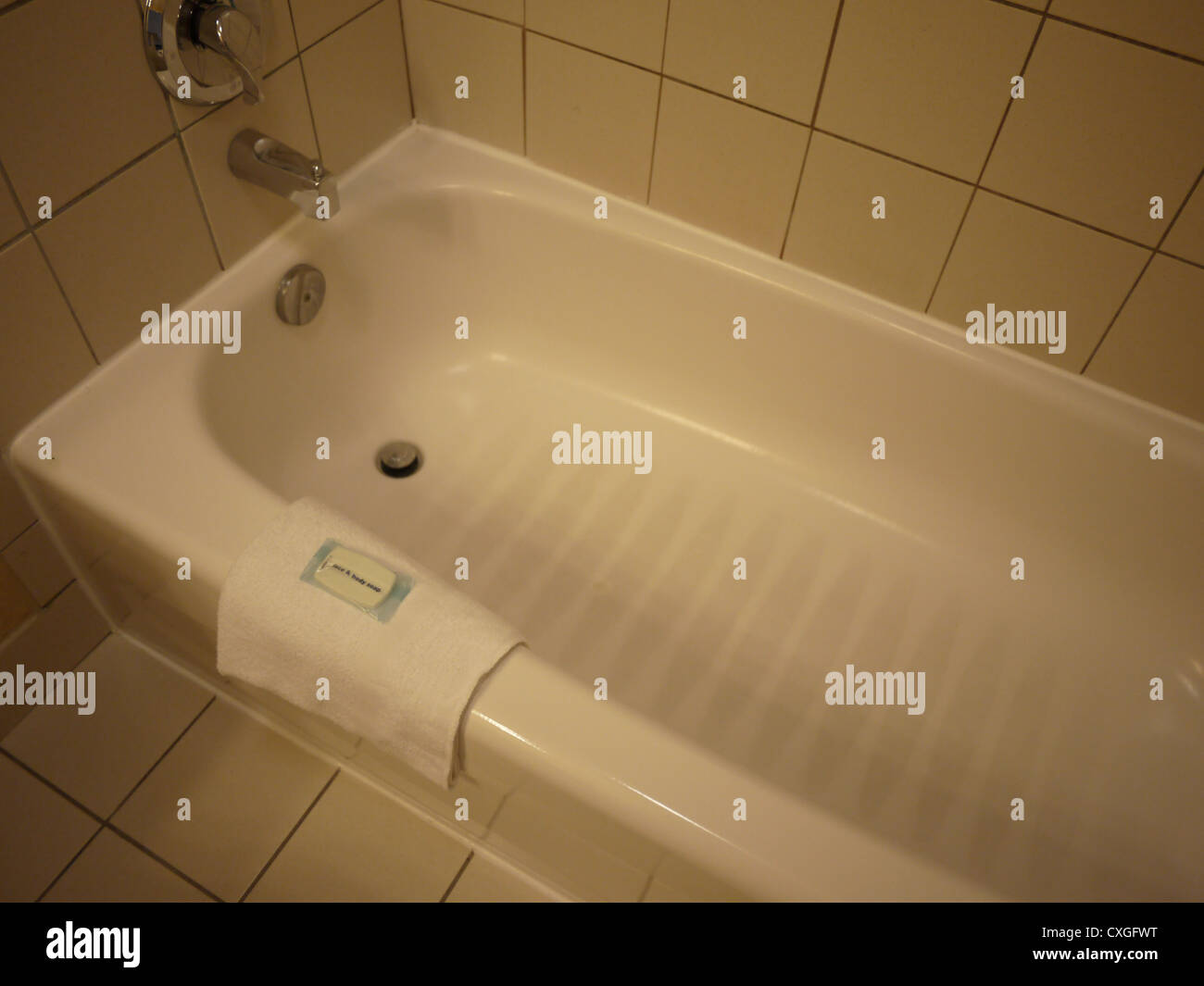 old vintage cheap inexpensive bathtub Stock Photo, Royalty Free ...