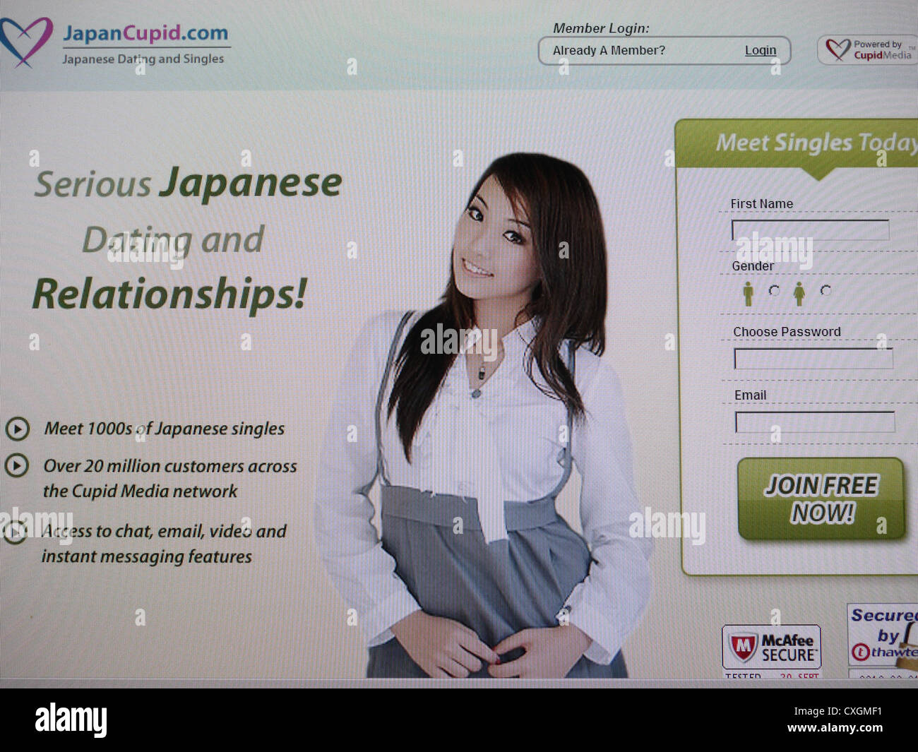 Popular dating sites in japan