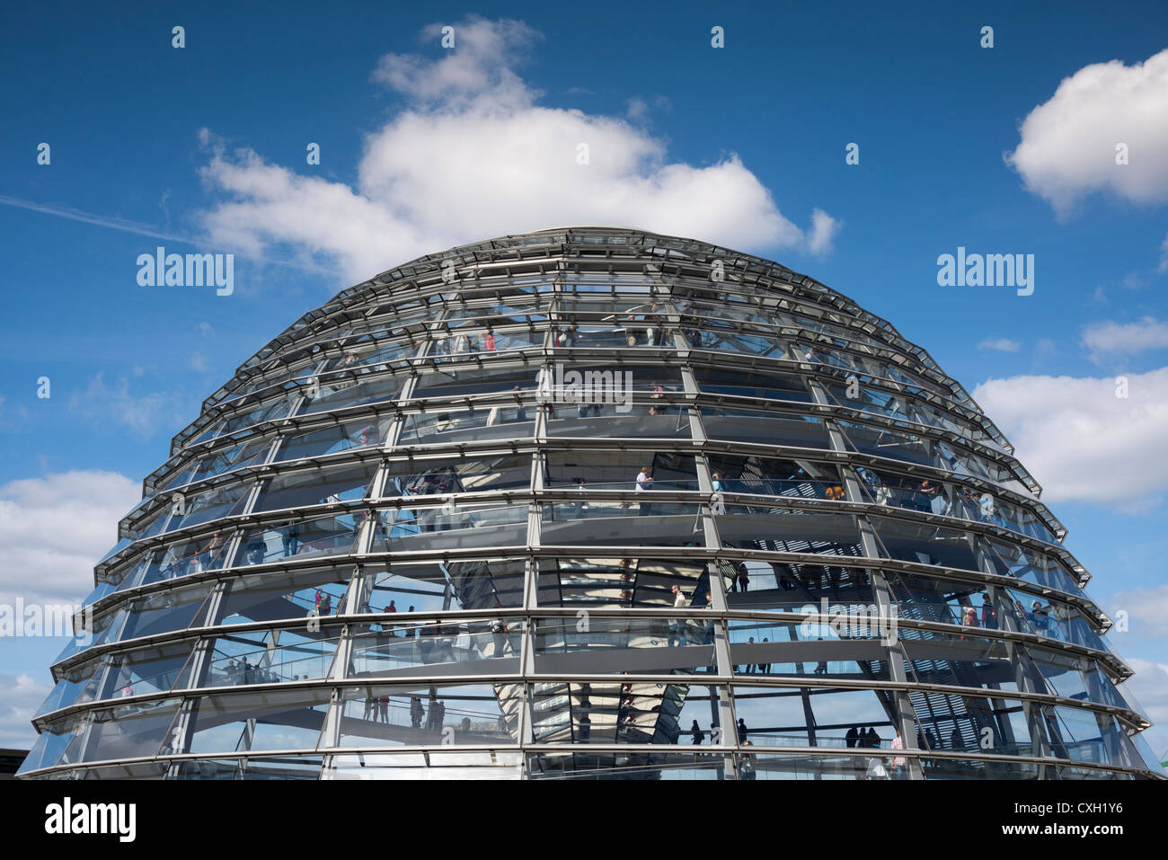 reichstag building glass dome berlin germany europe stock photo royalty free image. Black Bedroom Furniture Sets. Home Design Ideas