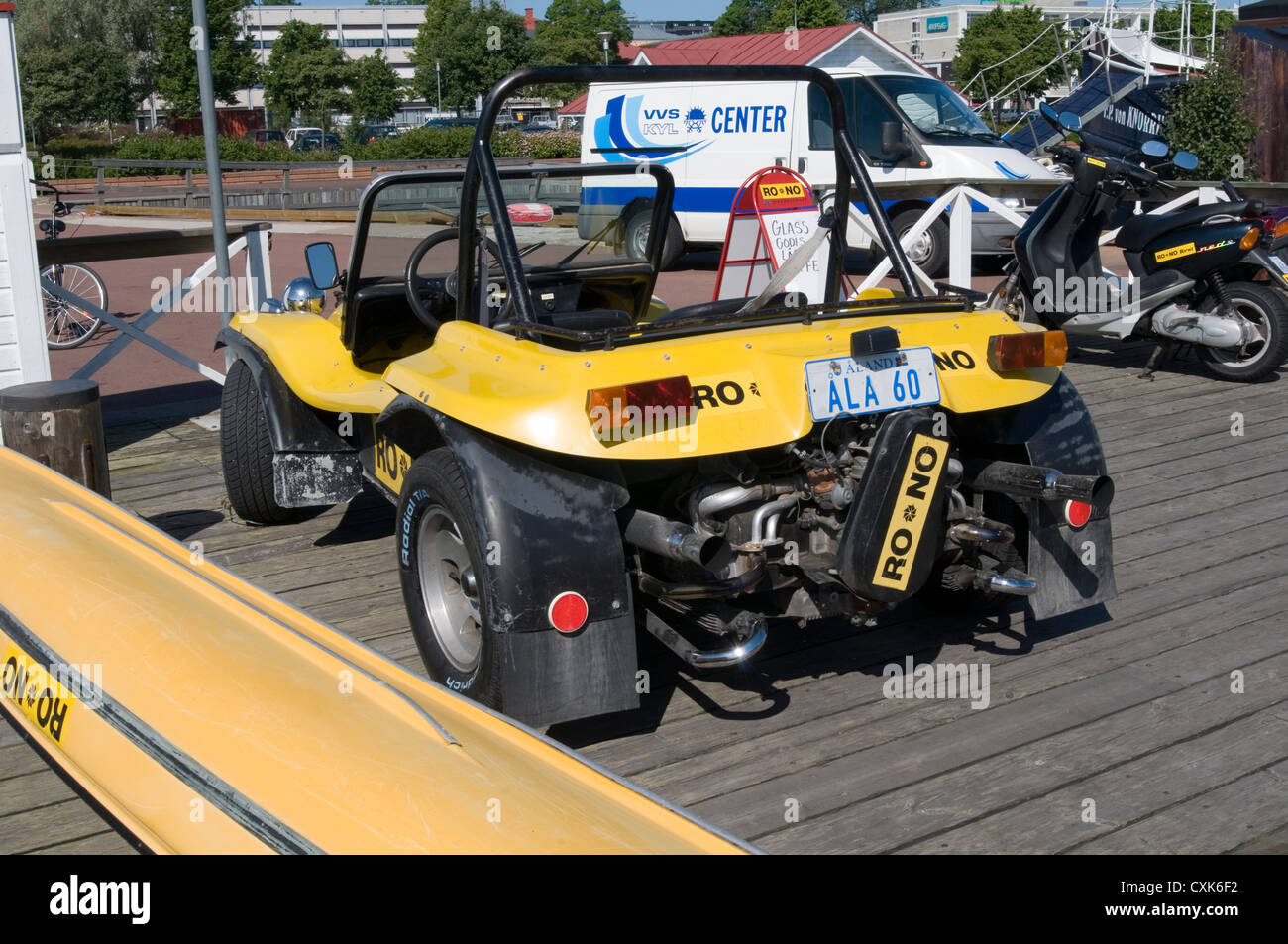 Beach Buggy Vw Beetle Kit Car Fun Cars Cool Buggies Stock Photo - Cool kit cars