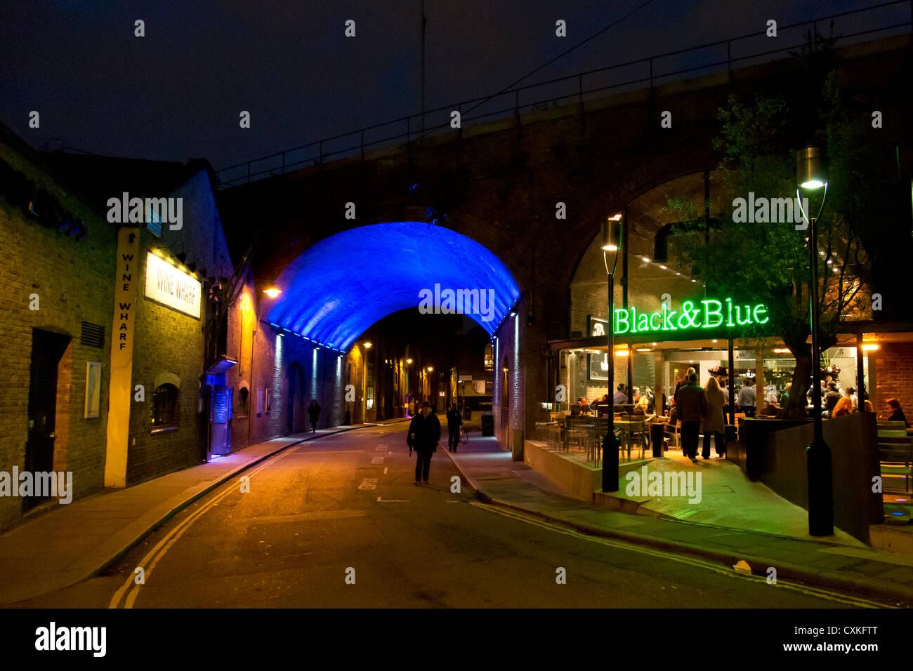 Black and Blue Restaurant, Borough Market. Stoney Street ... - photo#6