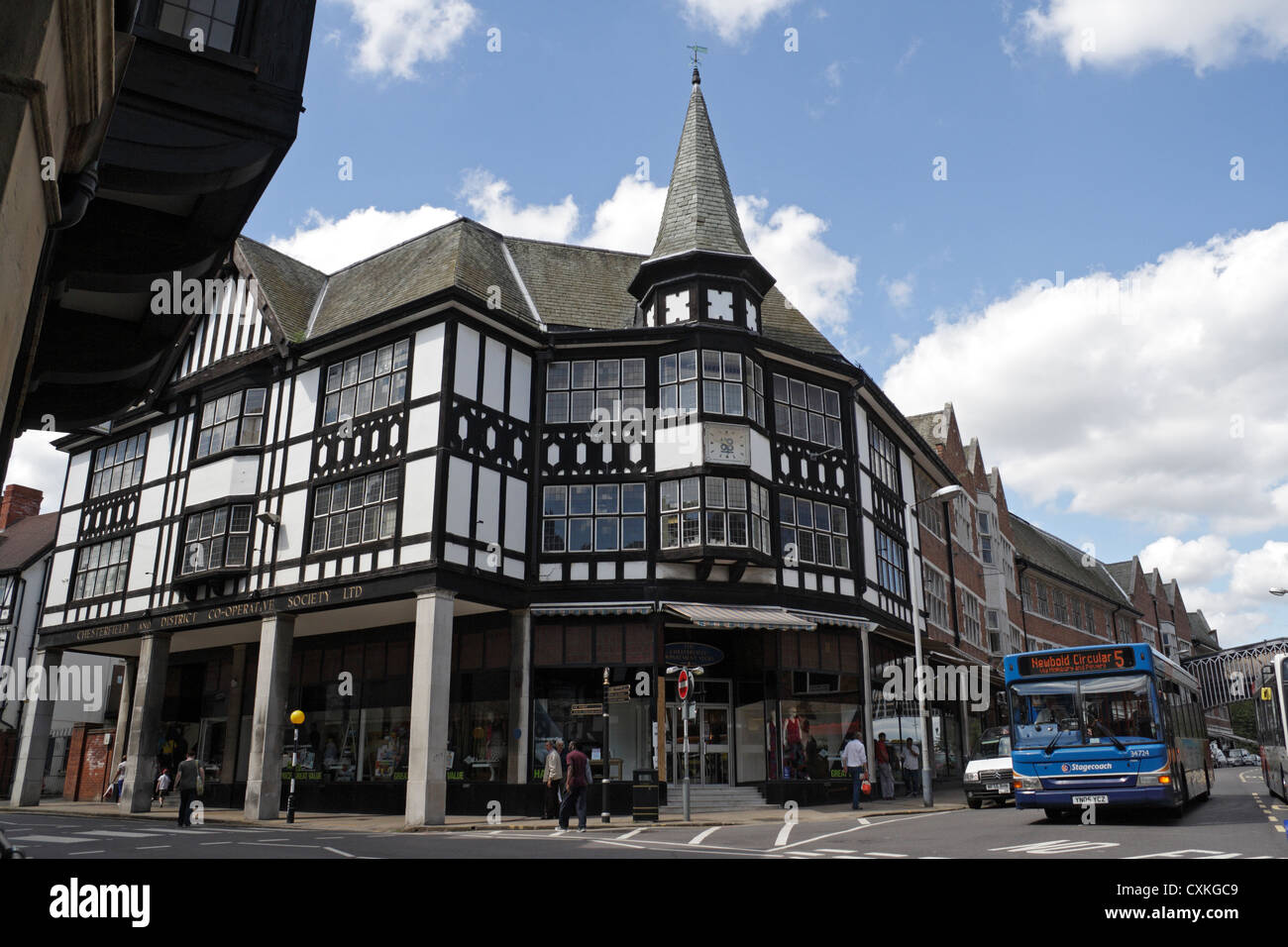 Tudor Architecture mock tudor architecture building stock photos & mock tudor