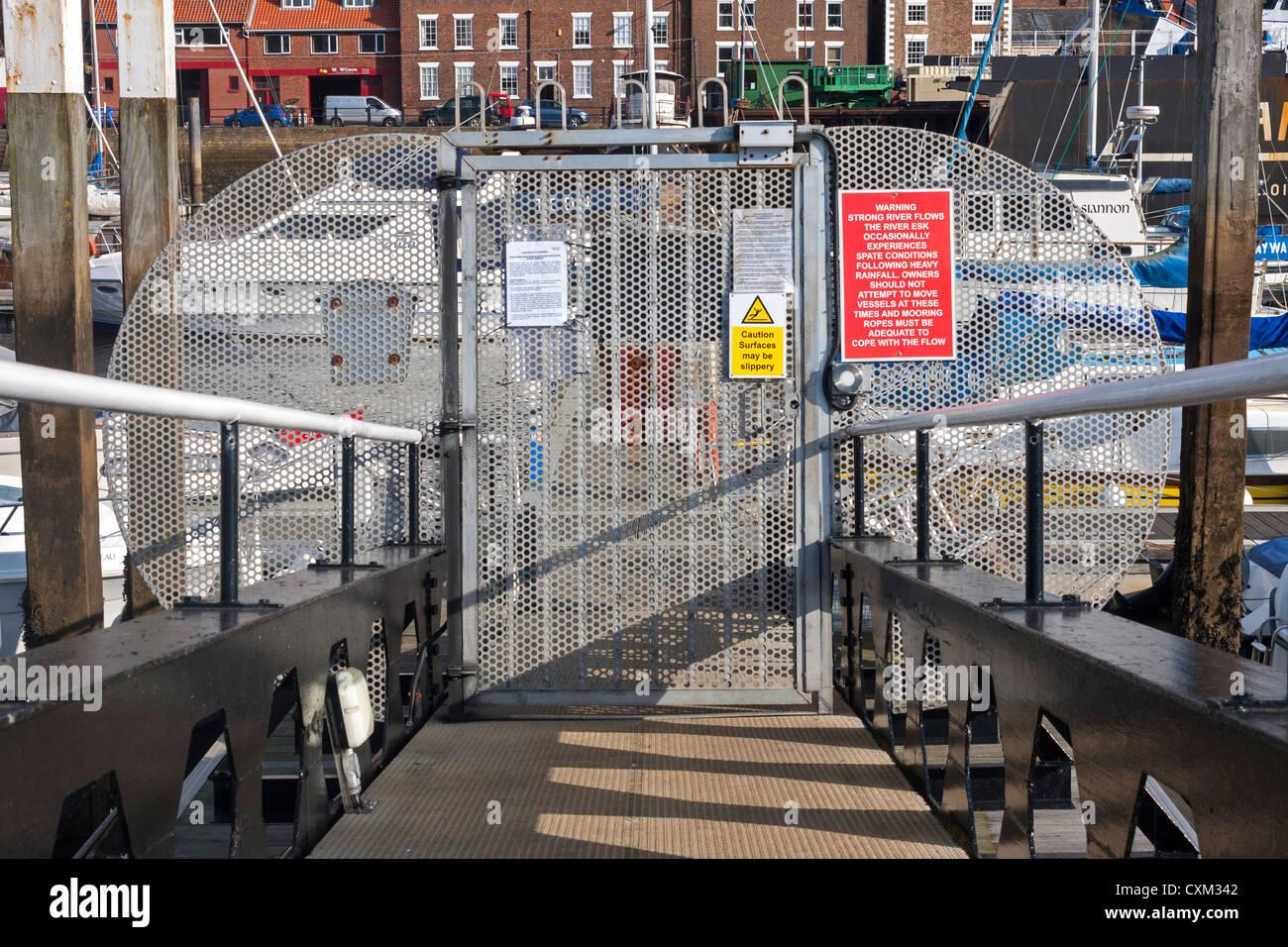 Marina Security Gate Best Western In Nashville Tn