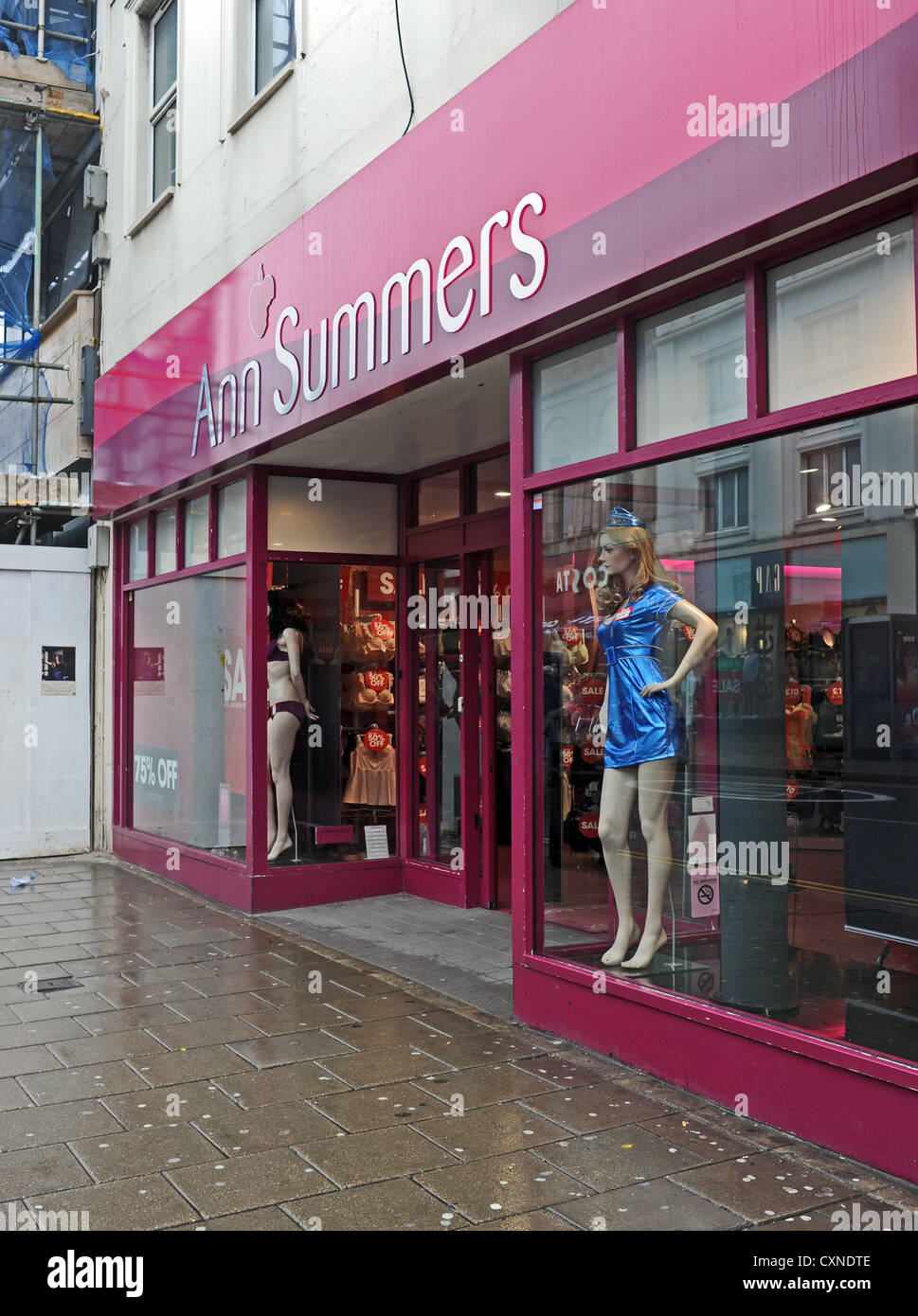 Ann Summers lingerie and sex items shop in Western Road Brighton ...