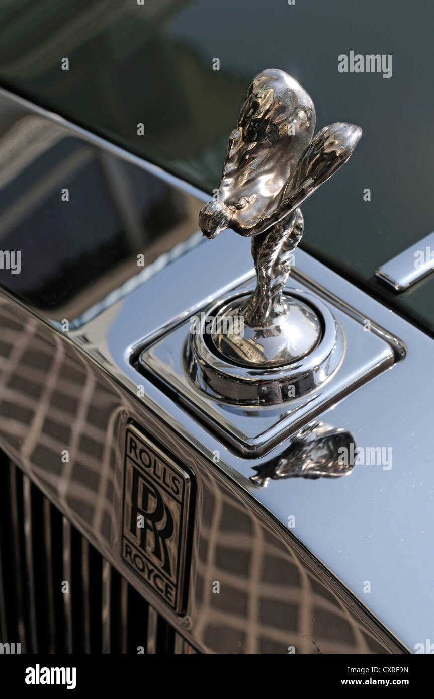 emily hood ornament of a rolls royce parked in front of. Black Bedroom Furniture Sets. Home Design Ideas