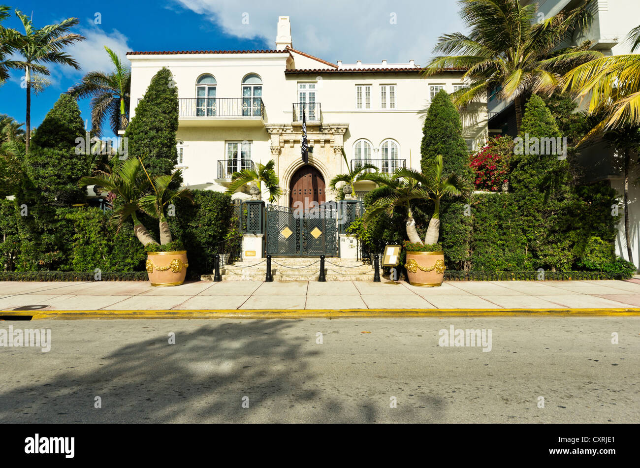 Mansion Miami Beach Art Deco District South Beach