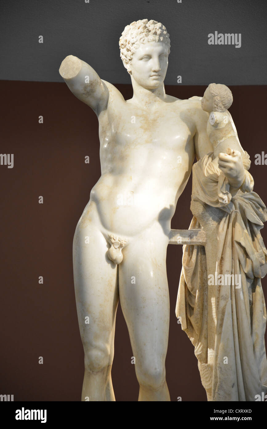 Hermes and the infant dionysus