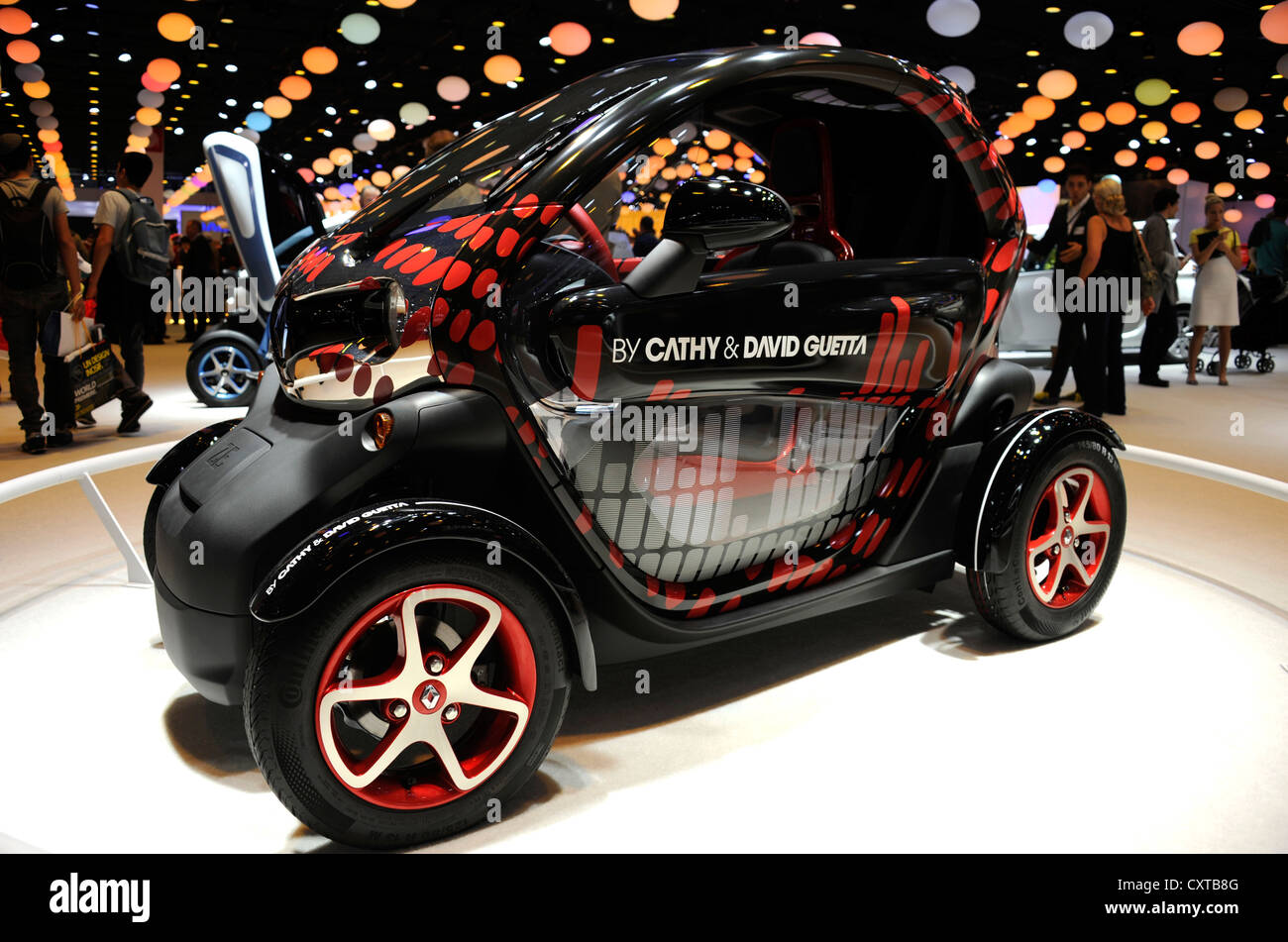 Renault Twizy By Cathy And David Guetta Electric Car Zero