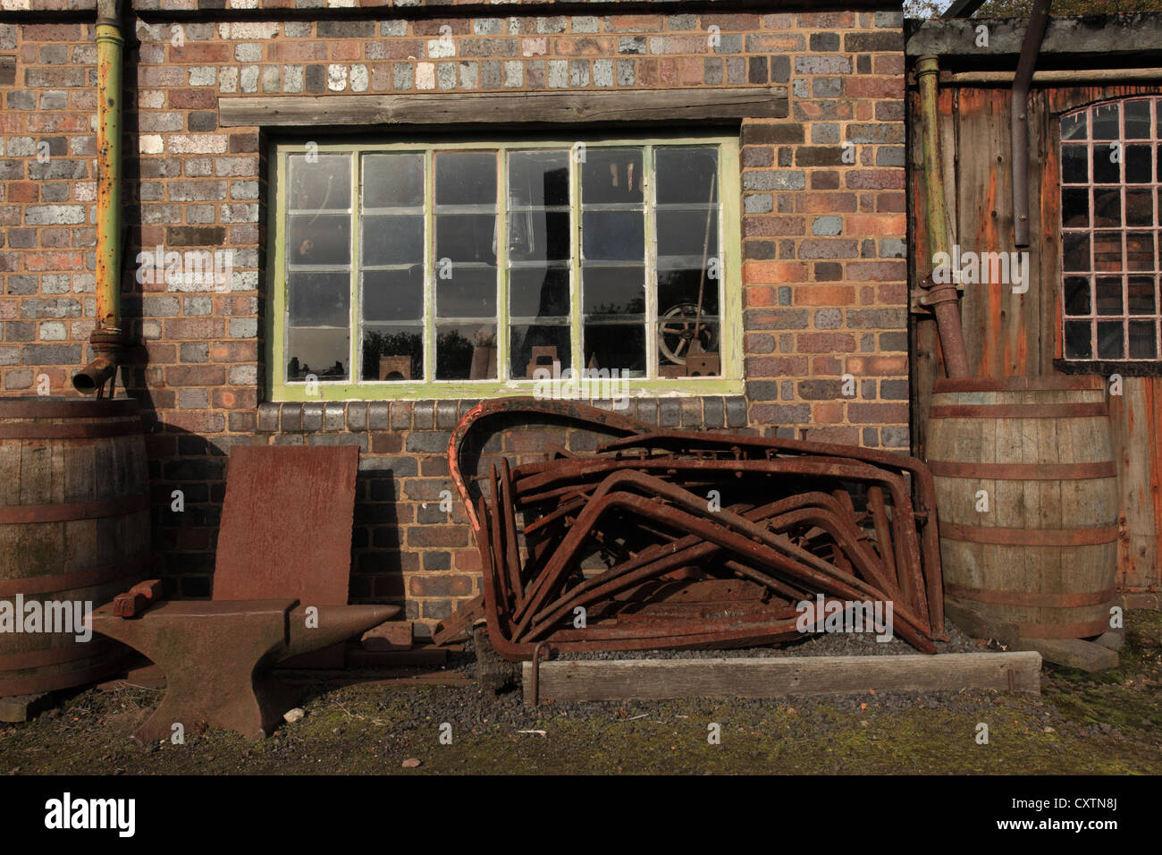 Old Timber Built Shed Or Outbuilding Stock Photo Royalty