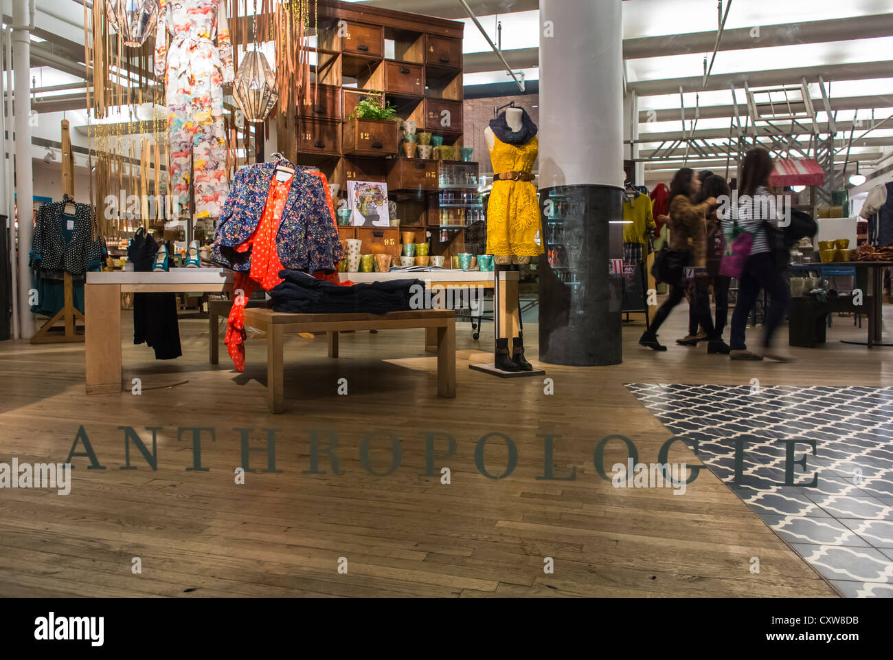 Anthropologie locations in nyc