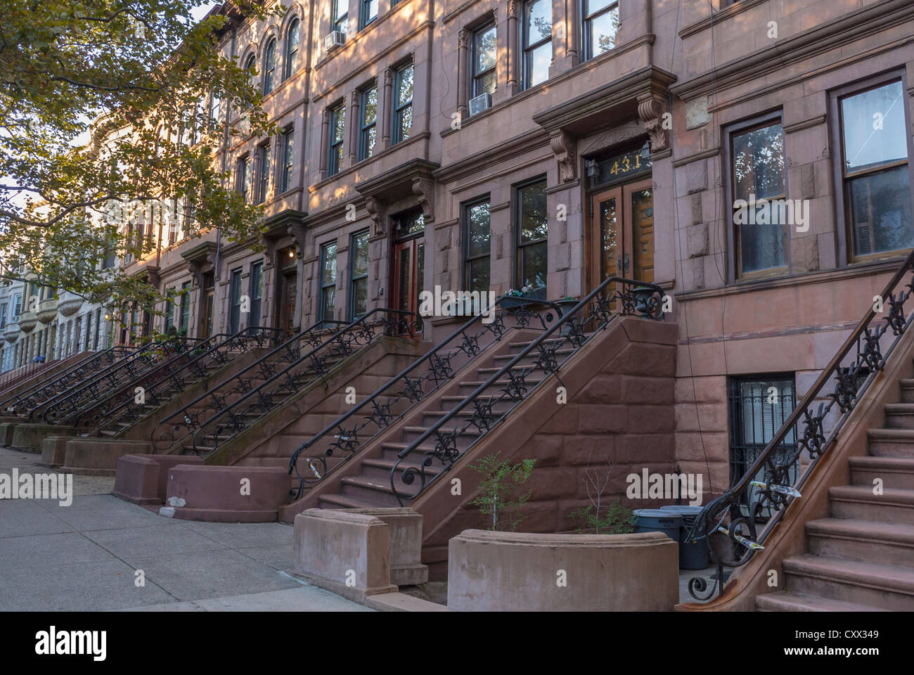 Apartment entrance nyc little luxuries the farm sea and for Whats a terraced house