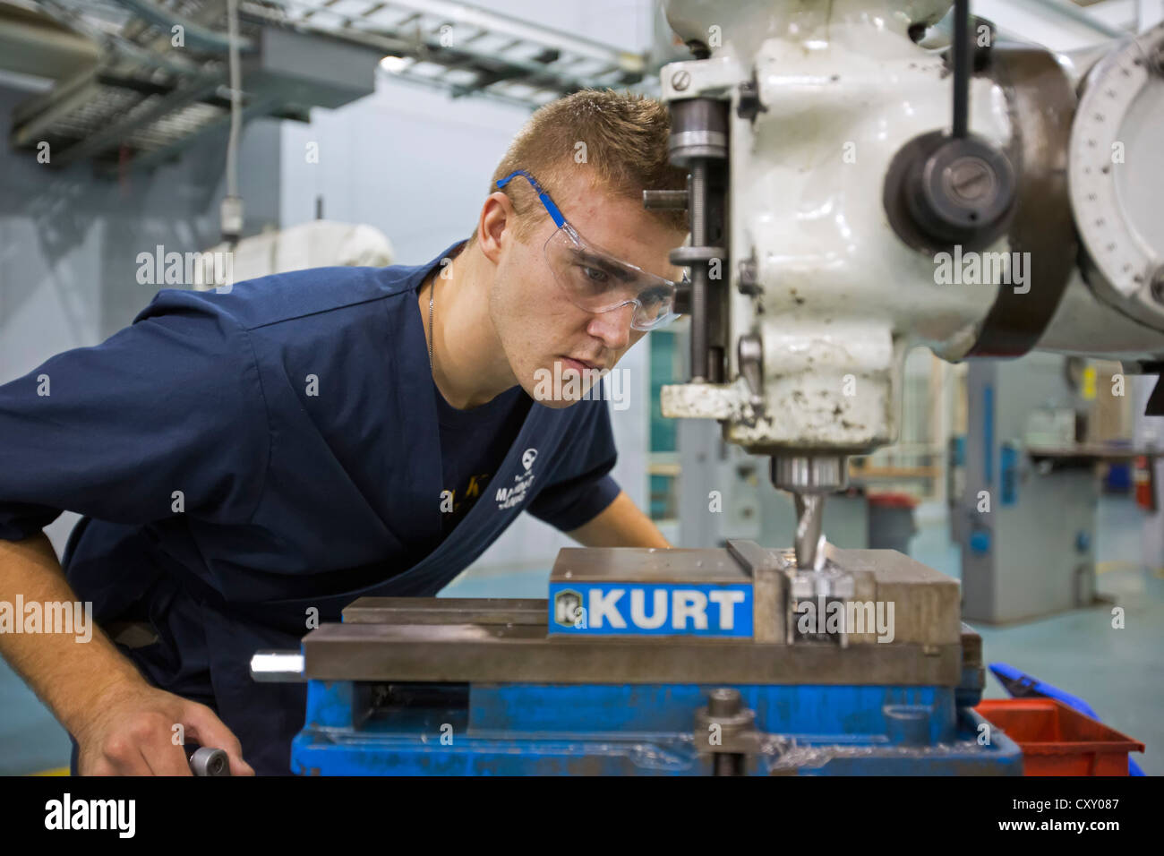 What is involved in machinist training?