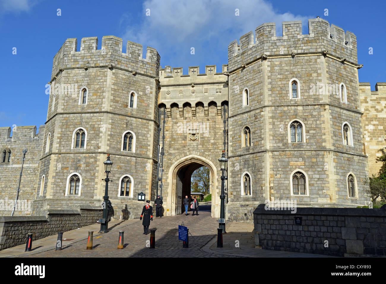 Henry VIII Gate, Windsor Castle, Castle Hill, Windsor, Berkshire ...