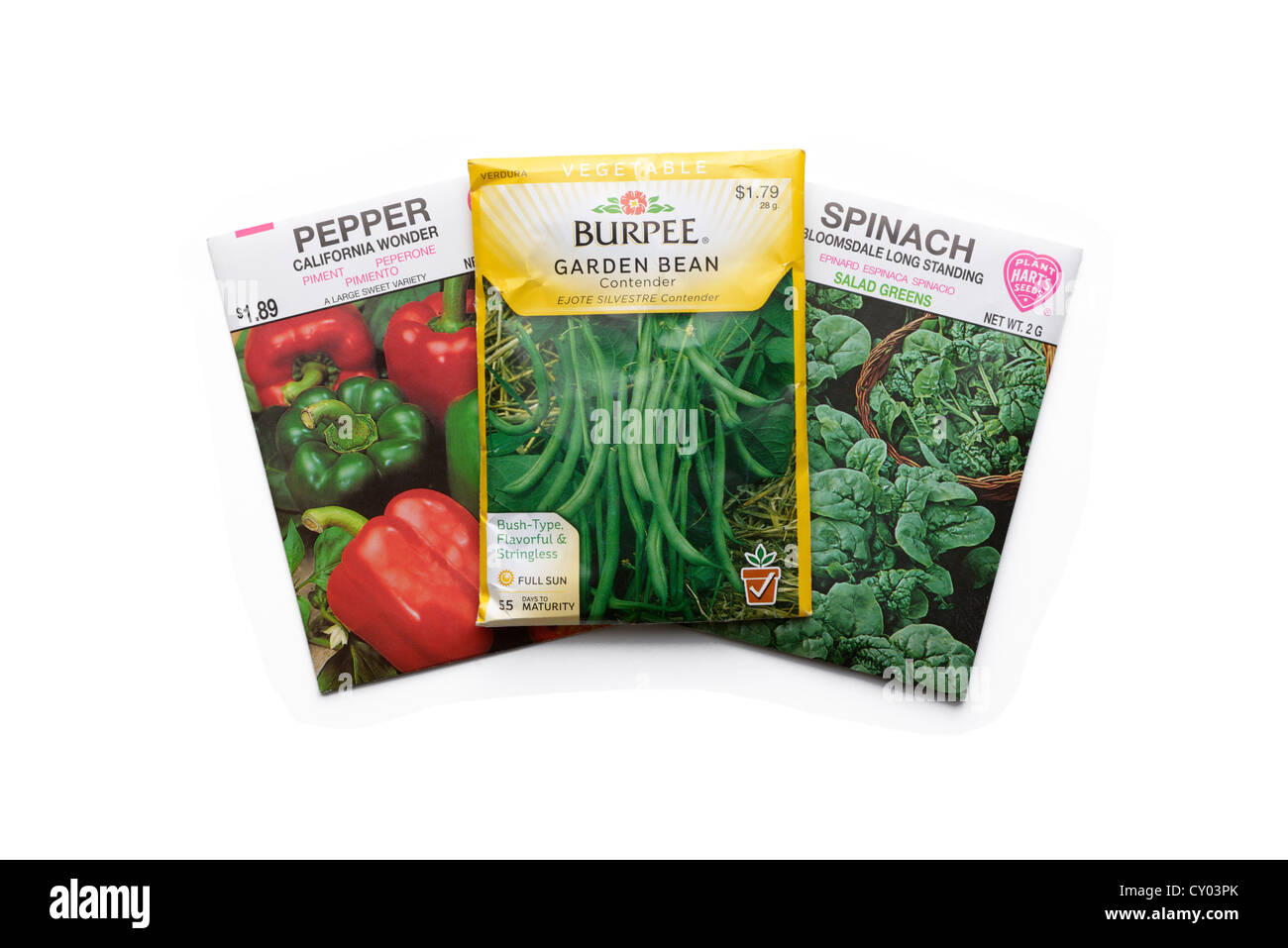 Nice Stock Photo   Vegetable Seed Packets