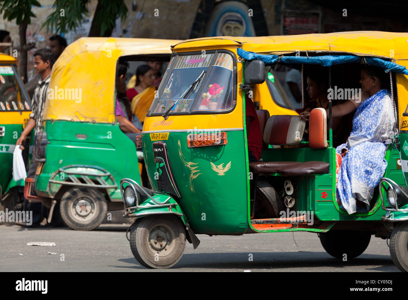tuk tuk in kolkata india stock photo royalty free image 51020750 alamy. Black Bedroom Furniture Sets. Home Design Ideas